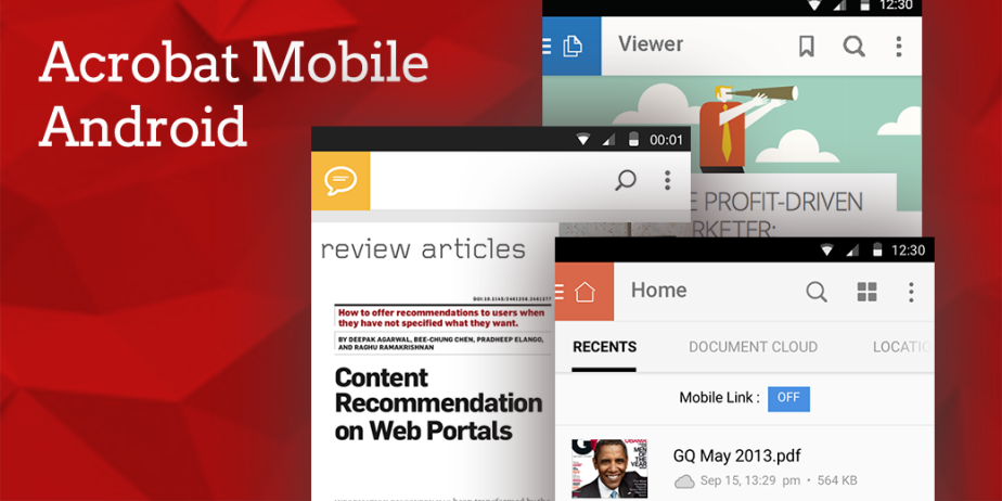 Acrobat Mobile Android